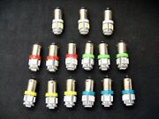 15 Assorted 5 Led Instrument Panel Dashboard Lights Bulbs Ba9s 53 1895 1815 Ford