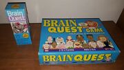 Brain Quest Game Preschool And Kindergarten Board Game With 300 Questions Cards
