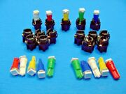 15 Assorted Lights Bulbs Leds 3/8 Sockets Instrument Panel Cluster Dash Chevy