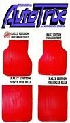 Mud Flaps Red Rally Edition Fits Subaru 360 Sedan 1958-1971 Deluxe Young K111l