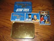Lot Of 3] Star Trek Collector Playing Cards Hoyle 1998 1st Series + Enesco] New