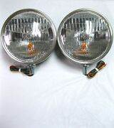 1933 1934 Style Commercial Pickup Truck Headlights W/ Turn Signal No Ford Script