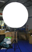 Inflatable Stand Tripod Balloon With Led Lighting For Event Advertising