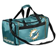 Miami Dolphins Duffle Bag Sports Gym Swimming Carry On Travel Luggage Tote New