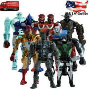 8pcs/set Real Steel Pvc Action Figures Collectible Model Dolls Toys Kids Gifts