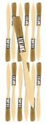 12 Pk- 1/2 Inch Chip Paint Brushes For Paint Stainsvarnishesgluesgesso