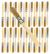 36 Pk- 1/2 Inch Chip Paint Brushes For Paint Stainsvarnishesgluesgesso