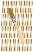 96 Pk- 1/2 Inch Chip Paint Brushes For Paint Stainsvarnishesgluesgesso