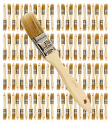 96 Pk- 1 Inch Chip Paint Brushes For Paint Stainsvarnishesgluesgesso