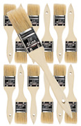 12 Pk- 1 1/2 Inch Chip Paint Brushes For Paint Stainsvarnishesgluesgesso