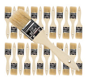24 Pk- 1 1/2 Inch Chip Paint Brushes For Paint Stainsvarnishesgluesgesso