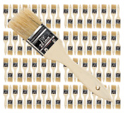 96 Pk- 1 1/2 Inch Chip Paint Brushes For Paint Stainsvarnishesgluesgesso