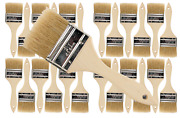 24pk- 2 1/2 Inch Chip Paint Brushes For Paint Stainsvarnishesgluesgesso