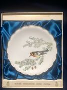 Royal Worcester The Birds Of Dorothy Doughty Plate Blackburnian Warbler In Box