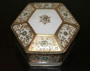 Hand Painted NIPPON Vanity Jar in Excellent Condition