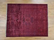 8and0398x10and0396 Overdyed Pak Persian 300 Kpsi Hand Knotted Oriental Rug G39519