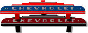 Chevrolet Heater Wing Logo Plate 1940's And 1950's General Motors