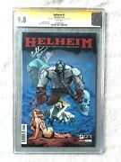 Helheim 1 Oni Press March 2013 Cgc 9.8 White Pages Two Signatures Gold Label