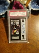 Le Veon Bell Auto Rookie Panini Contenders Gold/99 Psa 10