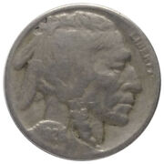 1926-d 5c Buffalo Nickel A1 - Very Tough Date And Mint With 1/2 Horn