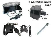 1957-77 Ford F-series Truck 8 Dual Wilwood Booster Kit And Adl. Valve Disc/ Disc