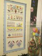 Victoria Sampler Button Sampler Cross Stitch Chart And Button Accessory Pack