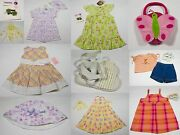 Nwt Girls Size 24m 2t Lot Of 7 Complete Sets + Accessories Spring Summer New