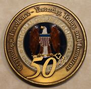 National Security Agency Nsa 50th Anniversary Military Challenge Coin