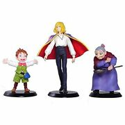 Cominica Studio Ghibli Collection Howls Moving Castle Set Of 3 Figures F/s Track
