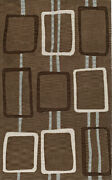 Brown Transitional Hand Hooked Rectangles Lines Stripes Area Rug Abstract Tr18