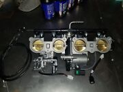 2017 Yamaha Fz10 Throttle Body Assembly With Throttle Cables