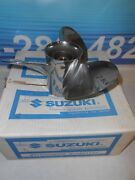 99105-00100-20p New Suzuki Stainless Outboard Ss Propeller 13 1/4 X 20 Pitch