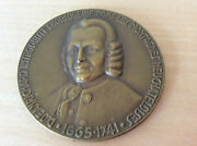 Medal Bicentenaire Of The Mort Of Daniel Jeanrichard 1941 - For Collectors