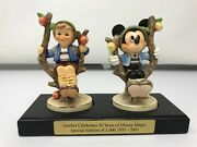 hummel Disney 50 Years, On The Apple Tree Special Edition 1,000 Mint In A Box
