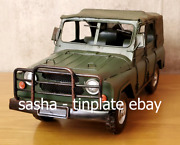 Tinplate Model Blechmodell Russian Army Rover Uaz Truck Jeep Tin Car Military