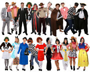 Adults World Book Day Costume School Storybook Movie Ladies Mens Fancy Dress Lot