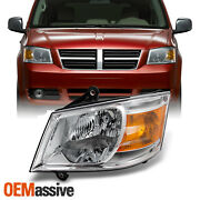 Fit 08-10 Dodge Grand Caravan Clear Driver Left Side Front Replacement Headlight