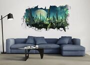 3d Future World Buildings 6 Wall Murals Wall Stickers Decal Breakthrough Aj Wall