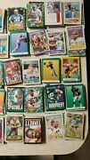 Huge Lot Of 880 Different Football Cards 80and039s And 90and039s Vintage Many Teams/players