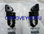 Honda Z50r 1980 To 99 Foot Peg Set Foot Rest 50616-181-770 And 50642-181-770 Ct110