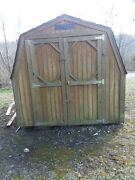 8x12 Wood Storage Shed. Great Shapeonly 2 Years Old. Paid 4000. Asking 1800.