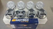 Ford 289 302 .140 Dish Pistons And Hastings Moly Rings 68-76 Sbf Small Block
