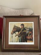 First Sergeant Don Stivers Civil War Commemorative Edition Giclee Print