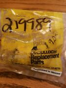 Nos Mcculloch Chainsaw Oiler Pump 83886 219989 Free Shipping