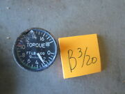 Used 2 Indicator Pressure Torque Beechcraft Np-105-dr For Military Aircraft