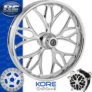 Rc Components Kore Chrome Custom Motorcycle Wheel Harley Touring Baggers 21