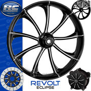 Rc Components Revolt Eclipse Custom Motorcycle Wheel Harley Touring Bagger 21