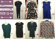Women's Clothing Bundle Mixed Lot Varying Brands, New And Used Size 12-14