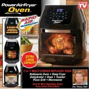 Power Air Fryer Oven Plus 6qt Xl Family Sized 1700w Cookbooks And Accessories Pack