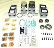 Power Head Rebuild Kit Mercury 135-150 Hp 2.5l Std Size Top Guided 100-20-40